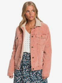 Good Fortune - Corduroy Trucker Jacket for Women  ERJJK03393