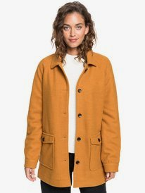 Keep Me Warm - Wool-Look Coat for Women  ERJJK03395
