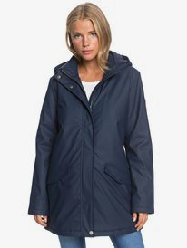 Downtown Calling - Waterproof Hooded Rain Coat for Women  ERJJK03399