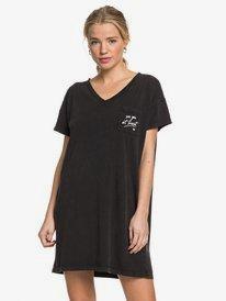 Night Shimmers - Short Sleeve V-Neck T-Shirt Dress  ERJKD03296
