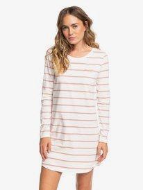 Light Mist - Long Sleeve T-Shirt Dress for Women  ERJKD03302