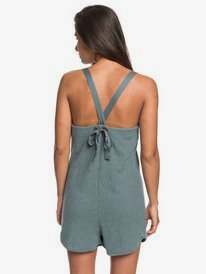 Golden Palm - Strappy Playsuit for Women  ERJKD03305