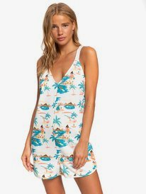 Golden Palm - Strappy Playsuit  ERJKD03323