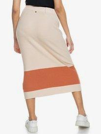On My Cloud Stripe - Bodycon Midi Skirt for Women  ERJKK03037