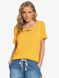 First Time - Bow Detail Short Sleeve Top for Women  ERJKT03556