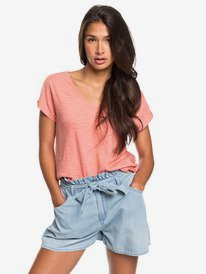 Starry Dream - Short Sleeve V-Neck Top  ERJKT03651