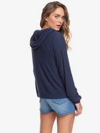 Like A Dream - Cosy Rib Knit Zip-Up Hoodie  ERJKT03664