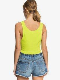 Kelia Summer Feeling - Cropped Rib Knit Vest Top for Women  ERJKT03669