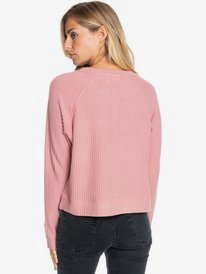 Take It Home - Cosy Waffle Knit Sweatshirt for Women  ERJKT03721