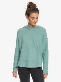 Sky At Night - Cosy Waffle Knit Hoodie for Women  ERJKT03725