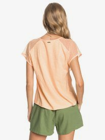 Crystal Water - Short Sleeve Top for Women  ERJKT03768