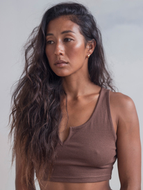 Kelia - Cropped Cami Top for Women  ERJKT03893