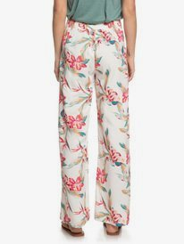 Beside Me - Wide Leg Viscose Trousers  ERJNP03287