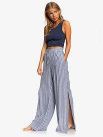 Keep Your Dreams - Wide Leg Viscose Trousers for Women  ERJNP03290