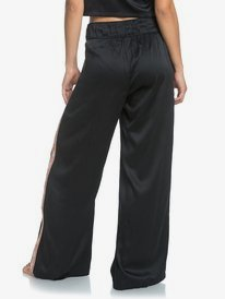 Want It All - Wide Leg Satin Trousers for Women  ERJNP03300