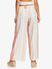 Beside Me - Wide Leg Cropped Viscose Trousers for Women  ERJNP03318