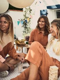 Positivity Vibes - Trousers for Women  ERJNP03404