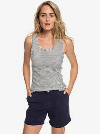 Across The Streets - Viscose Shorts for Women  ERJNS03207