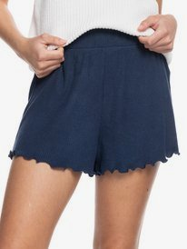 Cozy Day - Rib Knit Lounge Shorts for Women  ERJNS03342