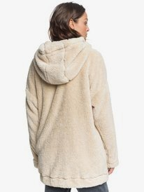Light Of The Night - Hooded Sherpa Jacket for Women  ERJPF03060