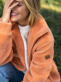 Alright Now - Sherpa Jacket for Women  ERJPF03076