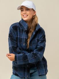 Set Your Sights - Sherpa Jacket for Women  ERJPF03081
