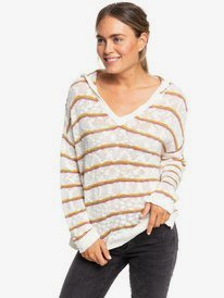 Sandy Bay - Hooded Poncho Jumper for Women  ERJSW03361