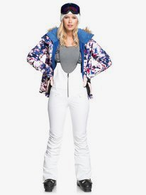 Summit Bib - Shell Snow Bib Pants for Women  ERJTP03144