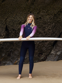 3/2mm Roxy Rise Collection - Back Zip Wetsuit for Women  ERJW103089