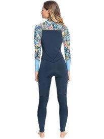 4/3mm Marine Bloom - Front Zip Wetsuit for Women  ERJW103092