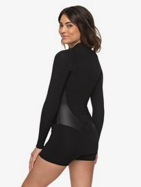 2mm Satin - Long Sleeve Front Zip Springsuit for Women  ERJW403010