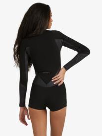 1.5mm Satin - Long Sleeve Front Zip Springsuit for Women  ERJW403020