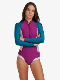 1mm POP Surf - Long Sleeve Front Zip Bikini Cut Shorty  ERJW403023