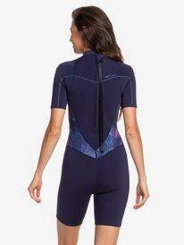 2/2mm Syncro - Short Sleeve Back Zip FLT Springsuit for Women  ERJW503007