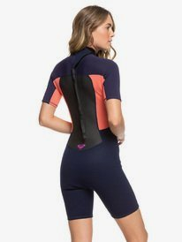 2/2mm Prologue - Short Sleeve Back Zip Springsuit for Women  ERJW503010