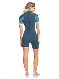 2/2mm Syncro - Back Zip Short Sleeve Springsuit for Women  ERJW503014