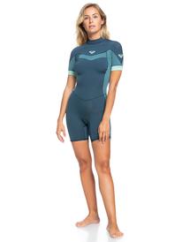 2/2mm Syncro - Back Zip Short Sleeve Springsuit for Women  ERJW503014