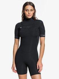 2/2mm Syncro - Short Sleeve Chest Zip Springsuit for Women  ERJW503015
