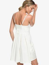Under The Cali Sun - Knot-Front Skater Dress for Women  ERJWD03335