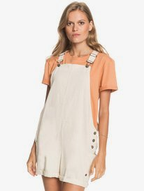 Low Rising - Dungaree Shorts for Women  ERJWD03510