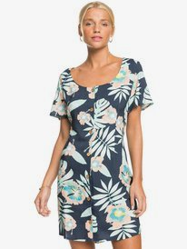 All Eyes On Love - Short Sleeve Dress for Women  ERJWD03576