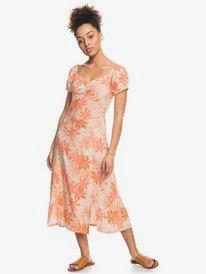 Soul Values Again - Midi Dress for Women  ERJWD03613