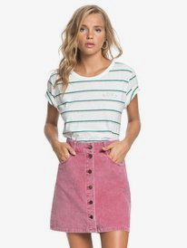 Unforgettable Fall - Button Through Corduroy Skirt for Women  ERJWK03069