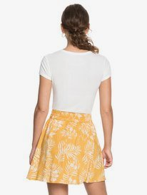 Said Too Much - Floaty Mini Skirt for Women  ERJWK03097