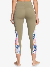 Runway Circle - Technical Capri Leggings for Women  ERJWP03036