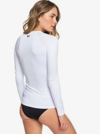 Essentials - Long Sleeve Zip-Up UPF 50 Rash Vest for Women  ERJWR03218
