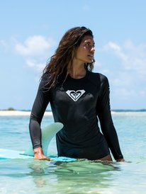Beach Classics - Long Sleeve UPF Rash Vest for Women  ERJWR03424