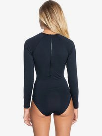 Essentials - Long Sleeve UPF 50 One-Piece Swimsuit for Women  ERJWR03432