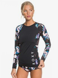 ROXY Fitness - Long Sleeve UPF 50 Rash Vest for Women  ERJWR03440