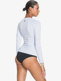 Essentials - Long Sleeve Zip-Up UPF 50 Rash Vest for Women  ERJWR03446